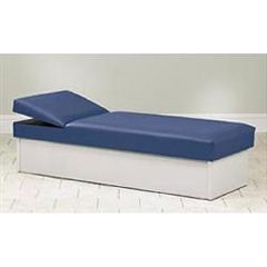 Clinton Industries Clinton Solid Base Couch With Adjustable Wedge