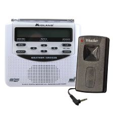 Silent Call Communications Midland Weather Alert Radio with Silent Call Transmitter