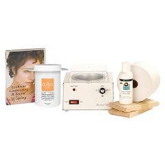ScripHessco Facial Waxing Starter Kit With DVD