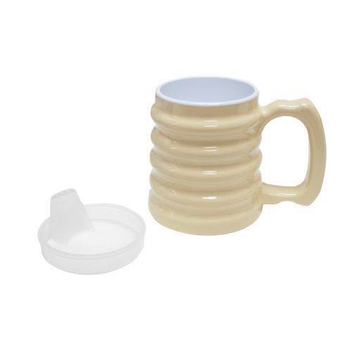 """Fabrication Replacement Spout Lid For """"Hand-To-Hand"""" Mug Model 077 570524 00"""