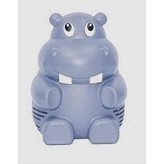 Invacare Supply Group Humpfrey the Hippo Purple Nebulizer