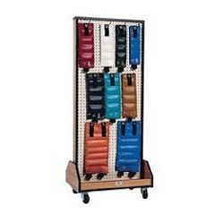 Hausmann Combo Rack With Weights & Dumbbells