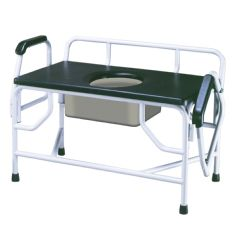 Drive Bariatric Large Drop Arm Commode