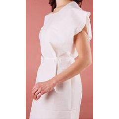 "Medi-Pak White Exam Gown - Adult 30"" x 42"""