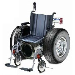Allegro Medical Jet Powered Concept Wheelchair