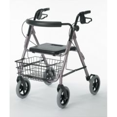"Front Wheel 8"" w/ hardware for the Guardian Envoy 480 Deluxe Rolling Walker"
