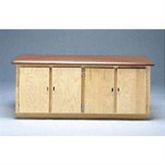 Bailey Manufacturing Bailey 4 Door Cabinet Table