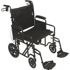 Roscoe Medical Deluxe Transport Chair