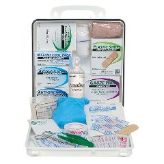 Zee Medical Plastic Carry First Aid Kit