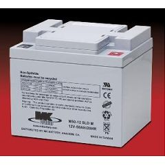 MK Battery MK 12 Volt - 50 AMP Sealed Light Duty AGM Battery