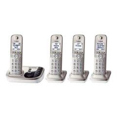 Panasonic Dect 6.0, 4 Handsets, Talking Cid, Itad