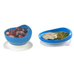 Ableware Scooper Bowl or Plate - With Suction Cup Base