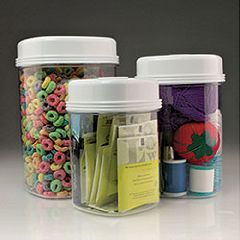 Ableware One-Handed Canister Set - Set of 3 Canisters