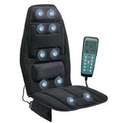 Comfort Products, Inc Ten Motor Massage Cushion W/ Heat & Memory Foam
