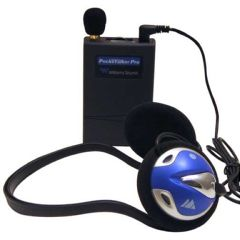 Williams Sound Llc Williams Sound Pocketalker Pro Personal Sound Amplifier with Behind-the-Head Headphone H26