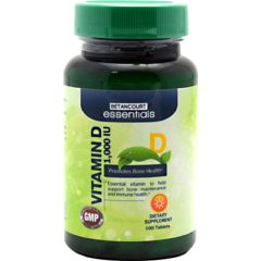 Betancourt Essentials Vitamin D 100 Tablets 1000IU