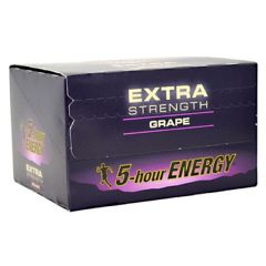 Living Essentials 5-Hour Energy Extra Strength - Grape