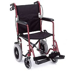 Nova Comet 330 Deluxe Lightweight Transport Wheelchair