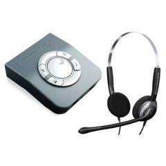 Sennheiser SH250 Over-the-Head Binaural Office Telephone Headset with Amplifier