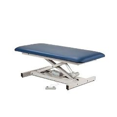 Clinton Industries Open Base Power Bariatric Table W/ One Piece Top