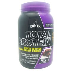 Cutler Nutrition Total Protein - Chocolate Brownie