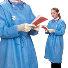 ChemoPlus Protective Gowns - Blue