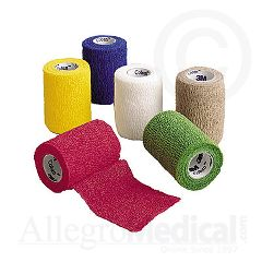 "Coban 3M Coban Self-Adherent Wrap 3"" wide Assorted Colors"