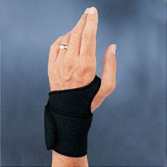 Sammons Preston Neoprene Wrist Support - Black