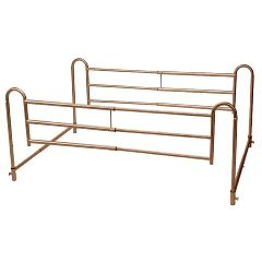 Drive Tool Free Adjustable Length Home Style Bed Rail