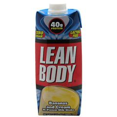 Labrada Nutrition Lean Body RTD - Bananas and Cream