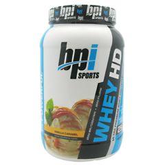 BPI Whey-HD - Vanilla Caramel