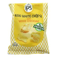 ips All Natural Egg White Ch(ips) - White Cheddar