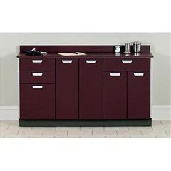 """Clinton Industries 66"""" Long Base Cabinet W/5 Doors And 3 Drawers"""