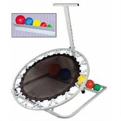 Ideal Medical Products Ideal Economy Rebounder Set - Includes Rack & Balls