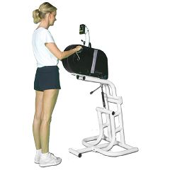 Endorphin Ube - 300/355-E1 Ergometer With Comfort Grip And Adjustable Stand