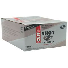 Shot Turbo Clif Shot Turbo Energy Gel - Chocolate Cherry