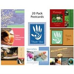 Gb Design Works Thank You Postcards - 20 Pack