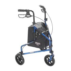 Drive 3 Wheel Rollator Walker with Basket Tray and Pouch