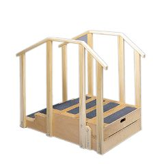 Bailey Manufacturing Training Stairs, Straight With 2 And 3 Steps With Platform, 30 Inch Wide