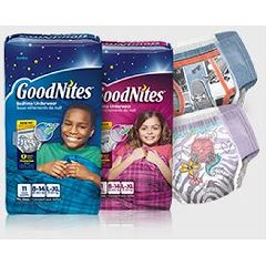 GoodNites Nightime Underwear- Youth