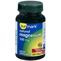 Sunmark Natural Magnesium Supplement
