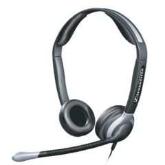 Sennheiser CC520 Over the Head Binaural Telephone Headset with Noise-Cancelling Mic