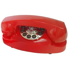Paramount Princess 1959 Red Decorator Phone