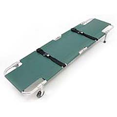Complete Medical Supplies Easy-Fold Wheeled Stretcher