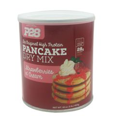 P28 Foods The Original High Protein Pancake Dry Mix - Strawberries N' Cream