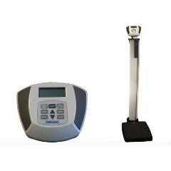 Health O Meter Electronic Physicians Scale with Height Rod