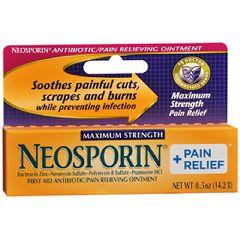 Neosporin Antibotic Ointment Maximum Strength