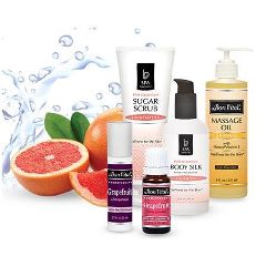 Bon Vital Pink Grapefruit Squeeze Massage Kit