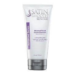 Satin Smooth Skincare Facial Renewal Cream Cleanser 5oz