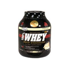 ON 100% Whey Gold, Instantized, Vanilla Ice Cream - 5 lbs